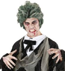 Zombie Man Wig - Green  (06741)